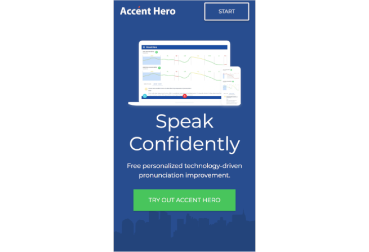 Accent Hero Announces Fully-Reworked Free Online American English