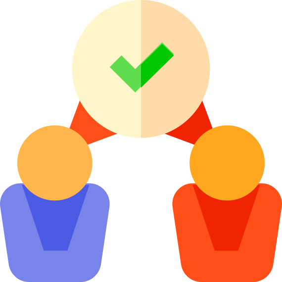 A clipart image for confirmity